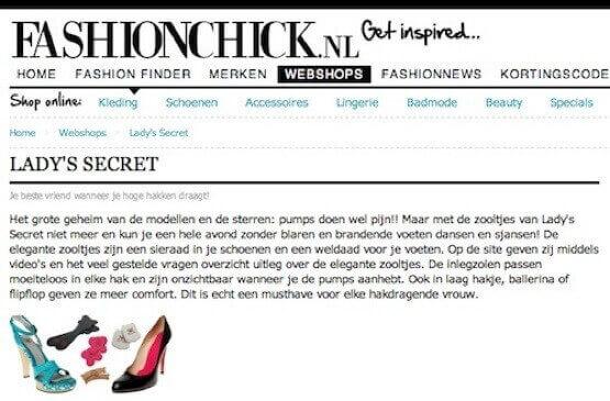 Lady's Secret inlegzolen fashionchick