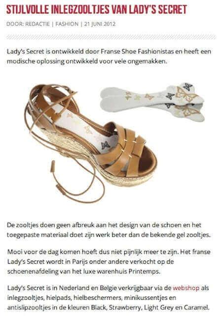 Lady's Secret inlegzolen fesjon fashionjunk